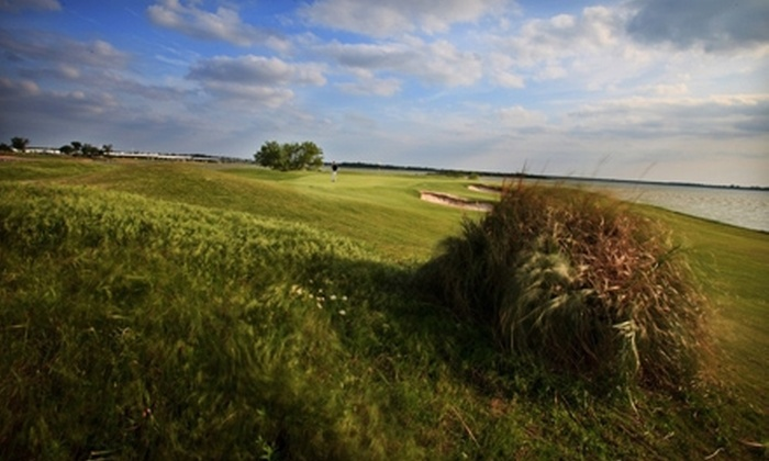 Stewart Peninsula Golf Course - The Colony: Golf for One, Two, or Four with Cart Rental and Range Balls at Stewart Peninsula Golf Course (Up to 55% Off)