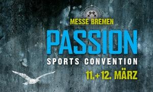 MESSE BREMEN: 2 Tageskarten für die PASSION am 11. oder 12. März 2017 inkl. 2 Frozen Yogurts in der MESSE BREMEN (50% sparen)