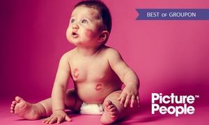 PicturePeople: 90 od. 105 Min. Baby-Fotoshooting-Erlebnis mit 3-4 Bildern als Ausdruck und Datei bei PicturePeople (bis zu 73% sparen*)