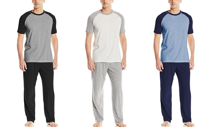 Hanes Men's X-Temp Pajama Sets