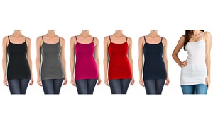 Women's Plus-Size Slimming Camisoles (6-Pack)