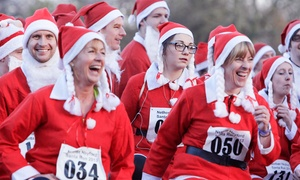 On Your Marks Events Ltd.: One or Two Tickets to Five-Mile Nether Heyford Santa Run, 3 December at 2 p.m., Nether Heyford (Up to 59% Off)