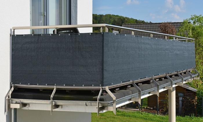 Water-Repellent Protective Balcony Windscreen