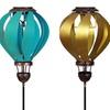 Solar Hot-Air Balloon Garden Stake