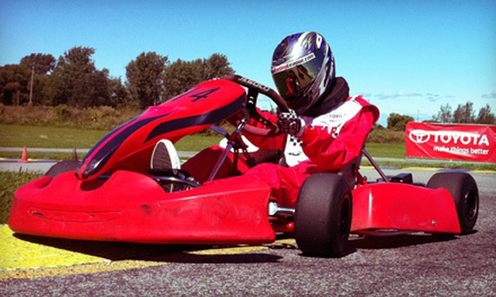 Canadian Karting League - Innisfil: $49 for 2012 Go-Karting Membership Package with 20 Training Laps at Canadian Karting League ($258.99 Value)