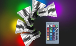 Massimo Magic LED Color Changing Light Bulb (6- or 8-Pack)
