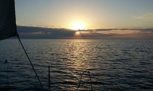 Balade soirée en mer