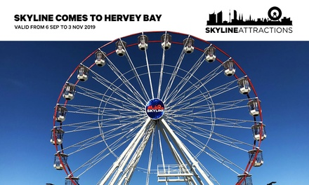 SkyLine Ferris Wheel Ticket: 1 Person $6 or Up to 6 People For One Gondola $18 from SkyLine Australia Up to $30