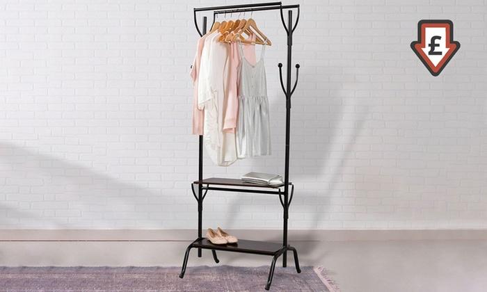 vintage style clothes rail uk, vintage style clothes rail | lamictals, Design ideen