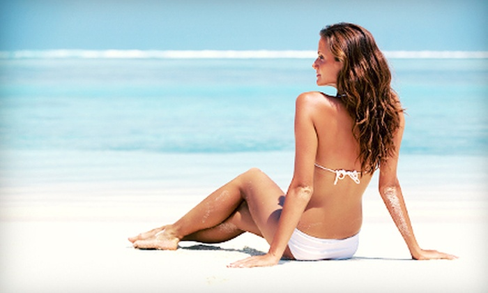 Destination Tans - Raleigh: One, Two, or Five Airbrush Spray Tans at Destination Tans (Up to 64% Off)