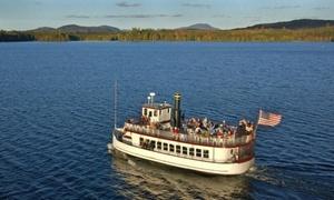Raquette Lake Navigation: Scenic Excursion, Luncheon Buffet, Pizza, or BBQ Picnic Cruises at Raquette Lake Navigation (Up to 40% Off)