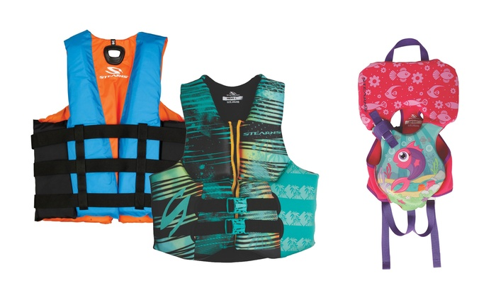 Coleman Water Sports Life Jackets and Puddle Jumpers