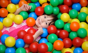 Lollipop's Playland : Playland Entry, 1 Child + 1 Adult on a Weekday ($6) or Weekend ($9) at Lollipop's Playland Parramatta (Up to $15 Value)