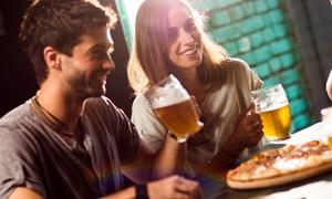 Hops Beer and Food Gourmet: Menu pizza o panino con un litro di birra per 2 persone da Hops Beer and Food Gourmet (sconto fino a 62%)