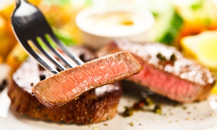 American Cuisine at Valentine's Restaurant (45% Off). Two Options Available.