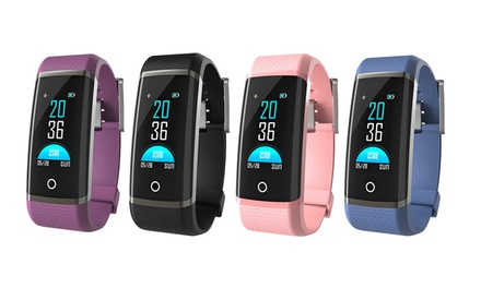 Colour Touchscreen Activity Tracker with Heart Rate Monitor: One ($36) or Two ($69)