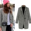 Women's Textured Button Coat