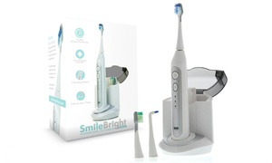 Elite Sonic Toothbrush with UV Sanitizing Charging Base   at Platinum Edition Elite Sonic Toothbrush with UV Sanitizing Charging Base  , plus 9.0% Cash Back from Ebates.
