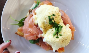 Bellezza e Cibo: Breakfast with Juice or Coffee for One ($10), Two ($19) or Four People ($37) at Bellezza e Cibo (Up to $94.80 Value)