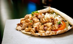 Pita Pit: Pita Sandwich Meal for Two or Four with Smoothies or Soft Drinks at Pita Pit (Up to 46% Off)