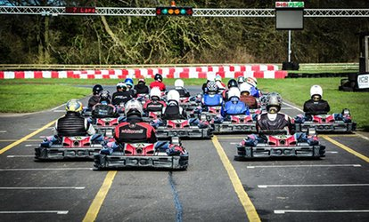 image for 30 Laps of Go-Karting for Up to Six People at Whilton Mill