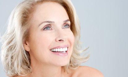 image for One Organic Teeth Whitening Treatment at Stellar Smile (78% Off)