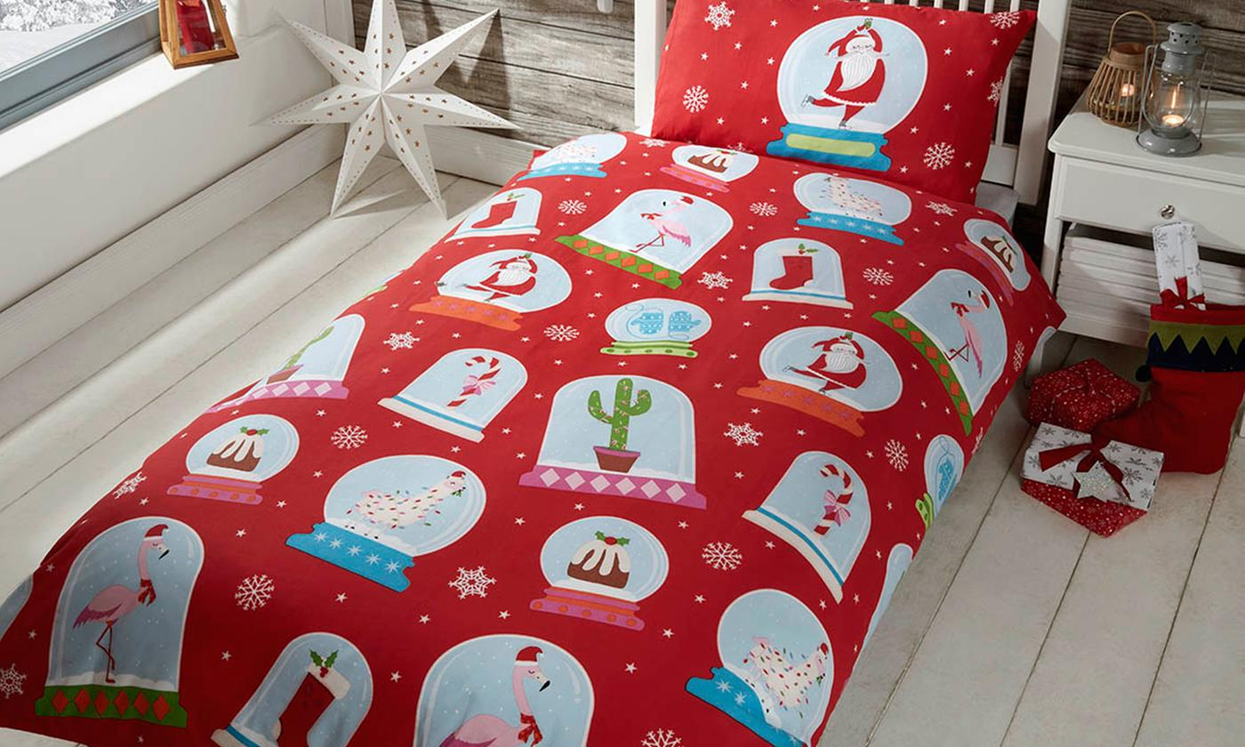 Rapport Home Children's Festive Duvet Set for £10