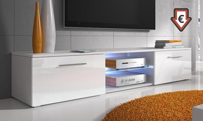 Muebles de tv con o sin led groupon goods for Ofertas muebles tv