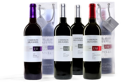 Cameron Hughes 6-Bottle Wine Sampler. Multiple Varieties Available.