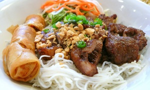 namson noodles: $6 for $10 Worth of Vietnamese Food — namson noodles