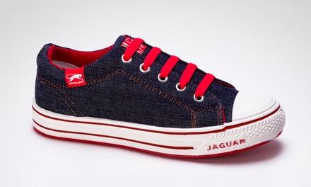 Desde $269 en vez de $385 por zapatillas Jaguar origen jean 320 unisex con retiro en sucursal