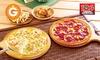 全国100店舗 ≪全レギュラーピザに使える半額クーポン(テイクアウト専用)≫
