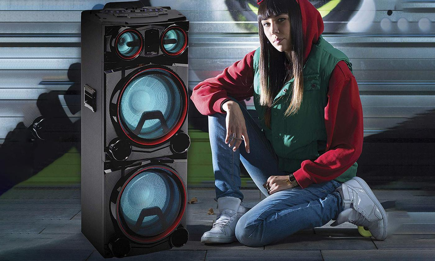 Daewoo 400W Portable Bluetooth Party Speaker