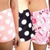 Juniors Plush Sleep Shorts (4-Pack) (Size L)