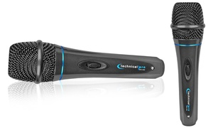 Technical Pro Professional Wired Microphone with Digital Processing