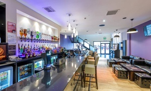 The Lounge Bar And Kitchen: Two-Course Meal and Drink or Wine for Two or Four at The Lounge Bar And Kitchen (Up to 67% Off)