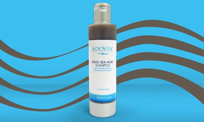 Adovia Dead Sea Mud Shampoo: Adovia Dead Sea Mud Shampoo; 7.4 Fl. Oz.
