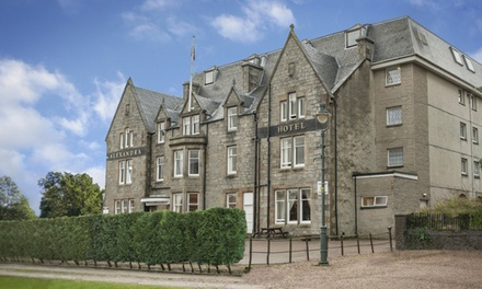 Fort William: 1 or 2 Nights for Two with Breakfast, Dinner, Tea or Coffee, Fizz and Late CheckOut at Alexandra Hotel