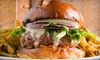 Up to 63% Off a Burger Meal at Bud's Ale House