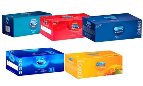 Pack de 144 preservativos Durex