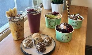 Ilya Frozen Yogurt: $9 for $15 to Spend on Frozen Yoghurt, Food or Smoothie at Ilya Frozen Yogurt, Two Locations