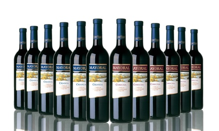 12 Bottles Mixed Case Spanish Crainza and Cosecha Red Wine £49.99 with Free Delivery (65% Off)
