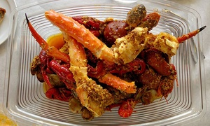 Hot Crab: $10 for $20 Worth of Cajun Seafood at Hot Crab