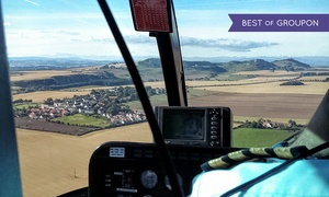 Adventure 001: Helicopter Flight with Chocolates and Bubbly for Two with Adventure 001