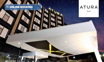 Albury, NSW: One-Night Stay for Two People with Bottle of Wine at Atura Albury