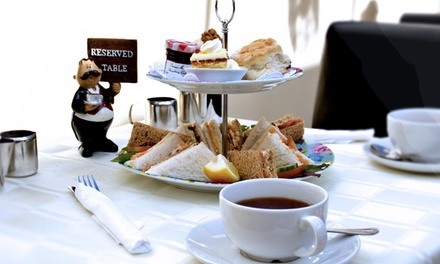 Traditional Afternoon Tea for Two with Optional Glass of Prosecco at Weston Beach Cafe