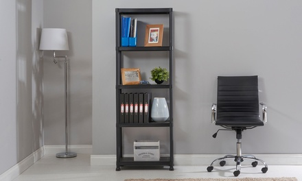 Four  or Five Tier Plastic Shelving Units