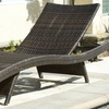 Lakeport Outdoor Wicker Lounge Chair