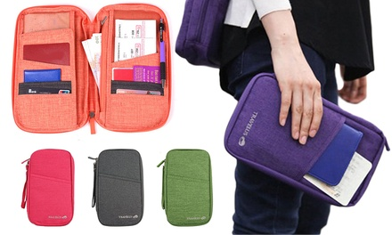 Large Capacity Multifunctional Passport Holder: One $12 or Two $19