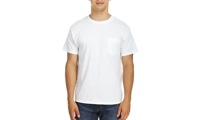Groupon Goods: 3-Pack Hanes Men's Short Sleeve Shirts (Shipping Included)